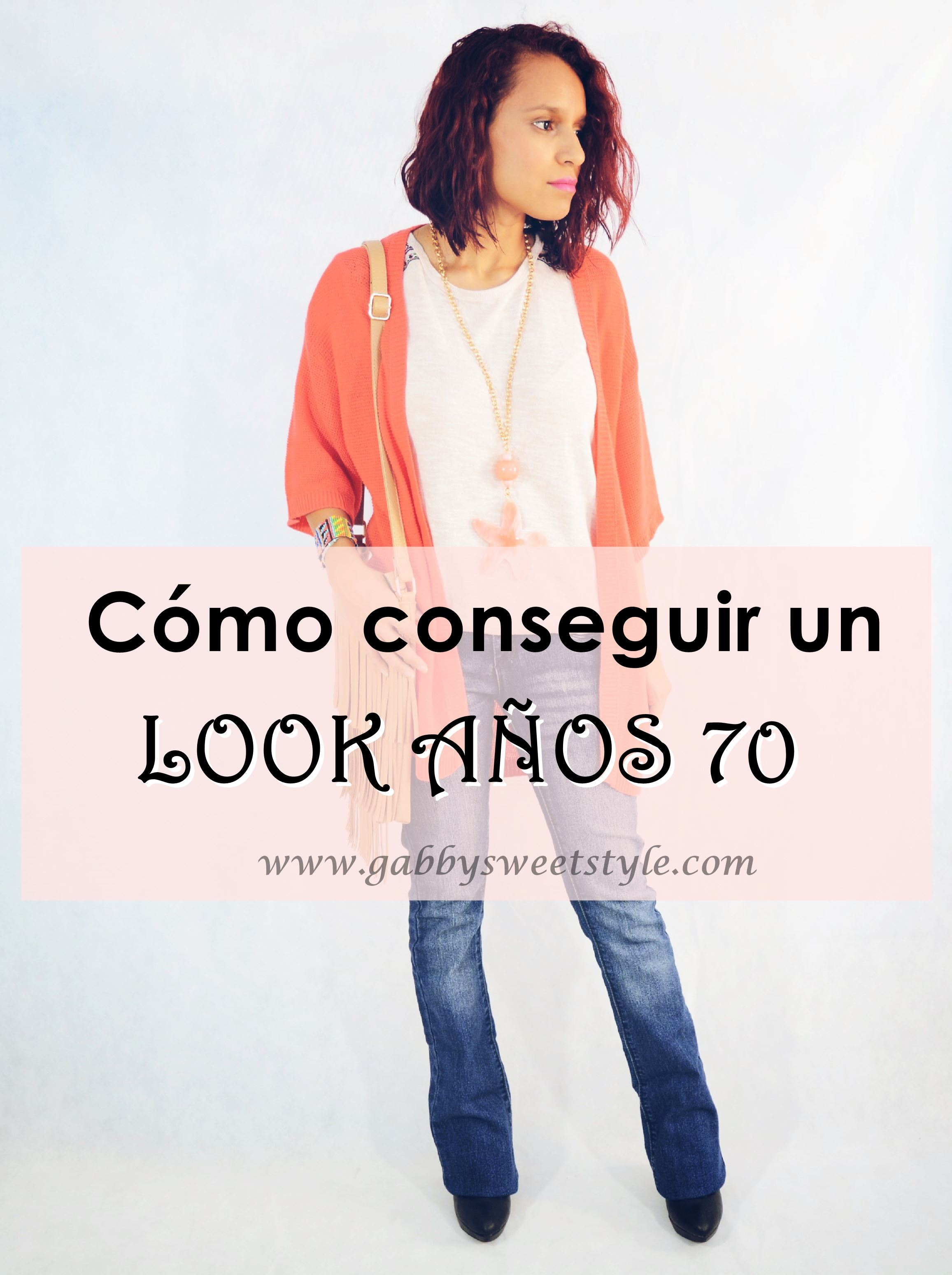 Look años 70 Portada