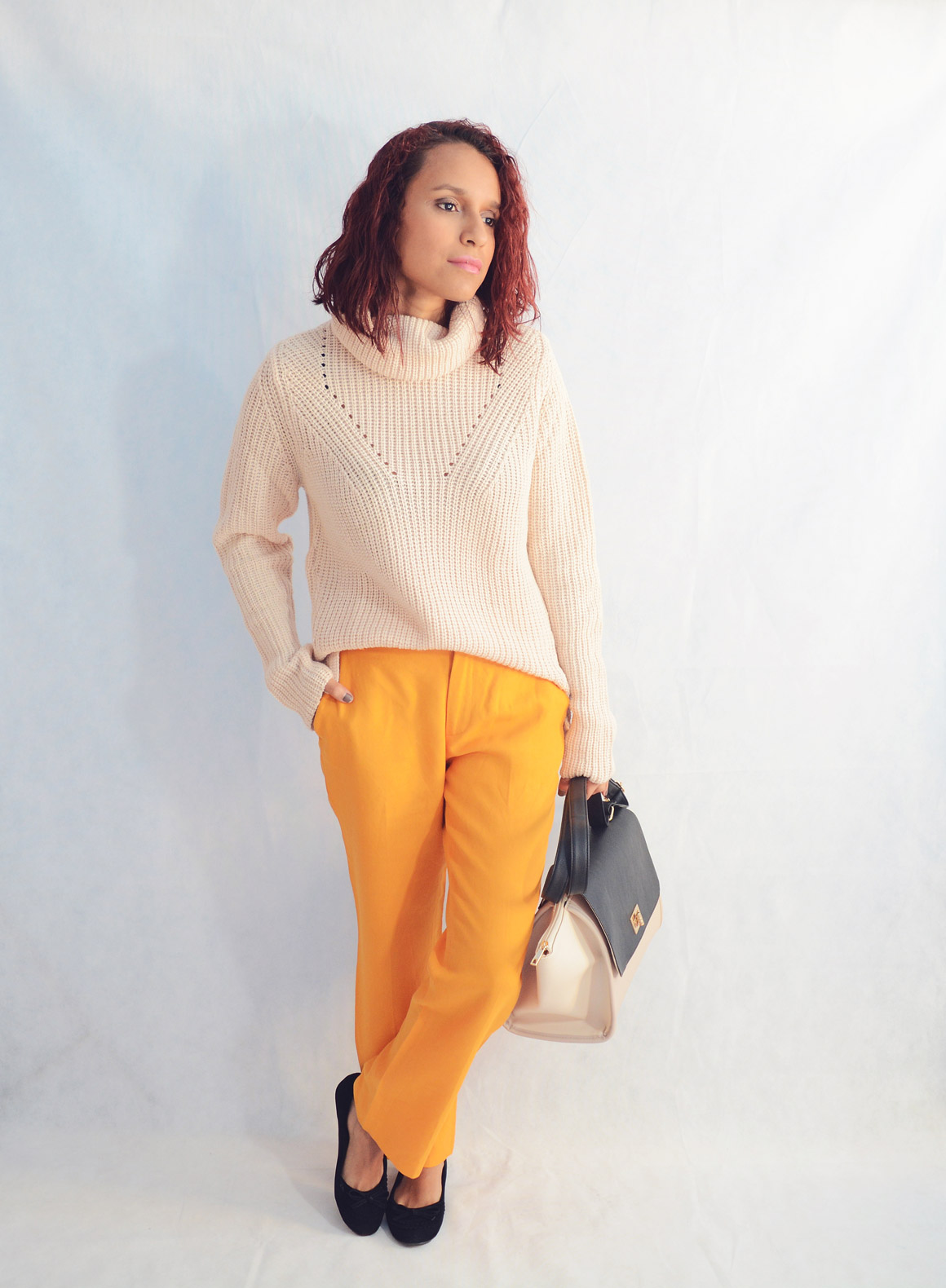 Combina pantalones naranja 2