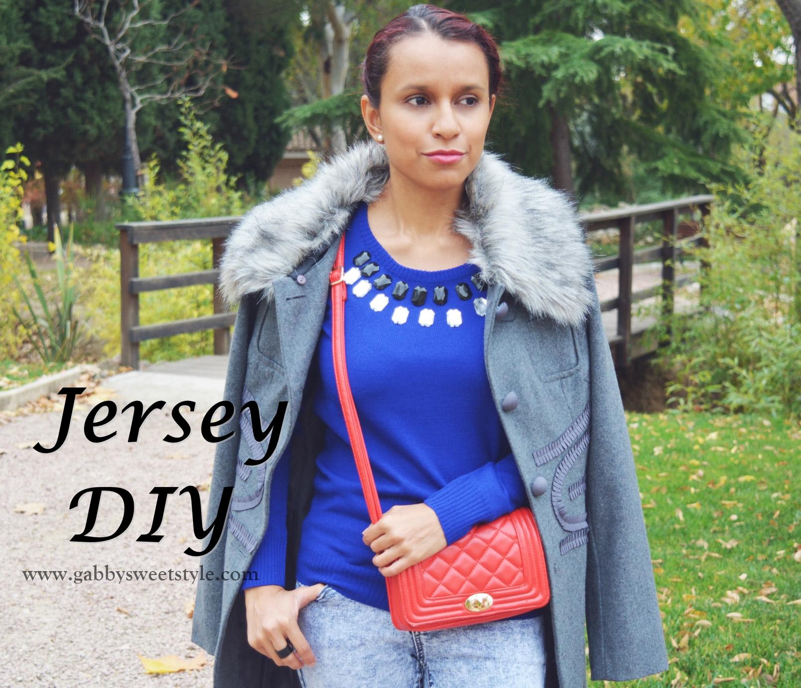 Look con Jersey DIY