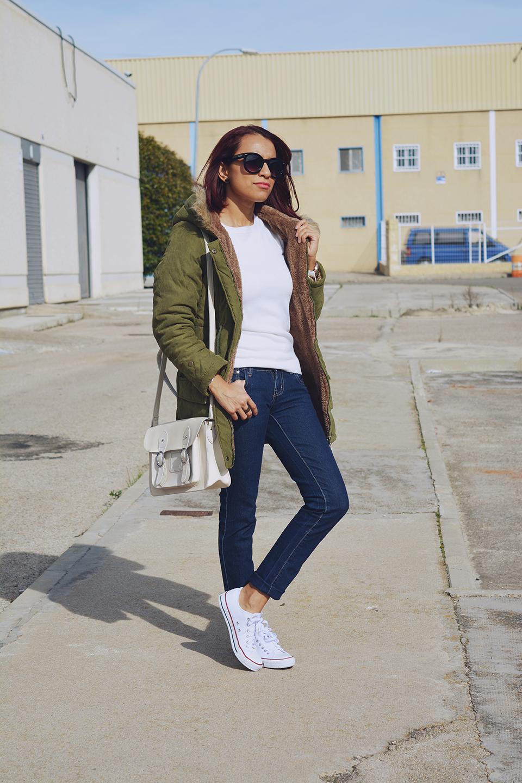 Look casual con parka 9