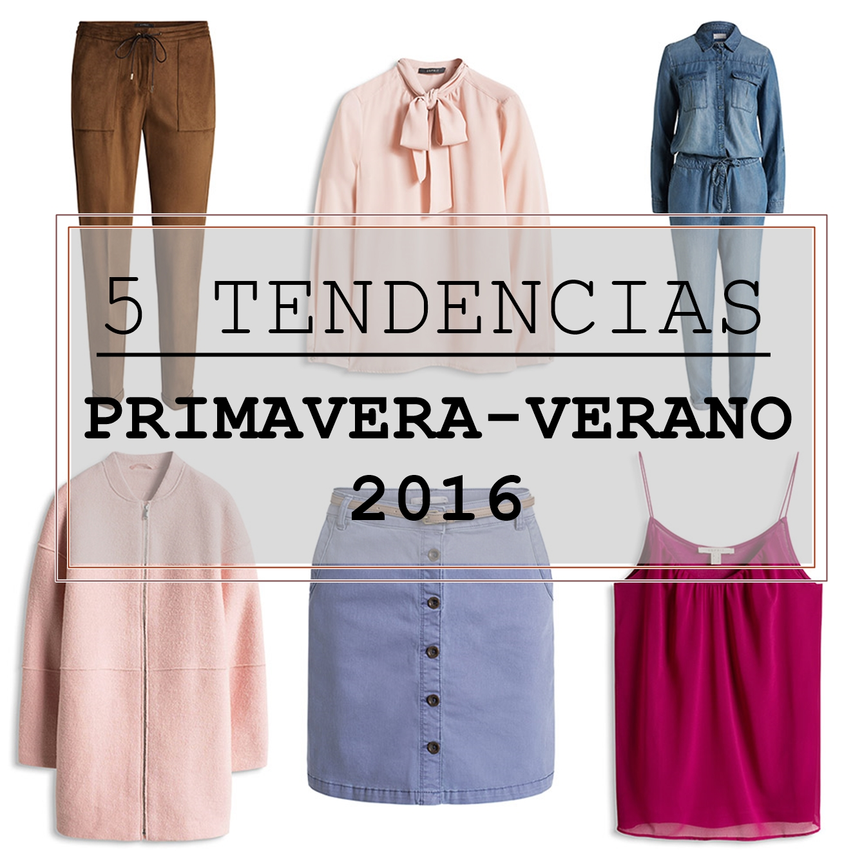 5 Tendencias de Primavera-Verano 2016