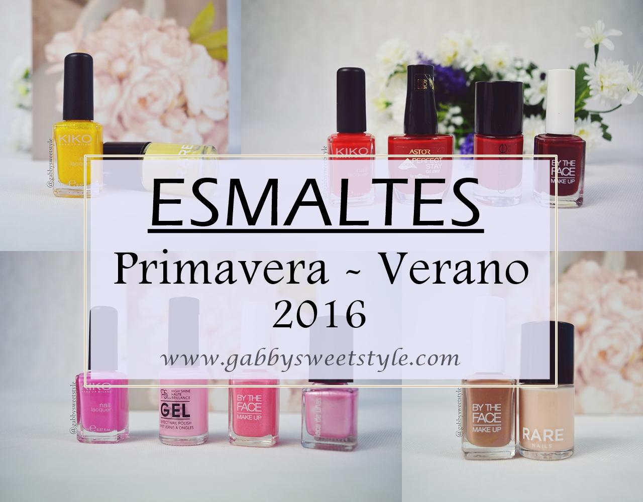Tendencia: Esmaltes Primavera-Verano 2016