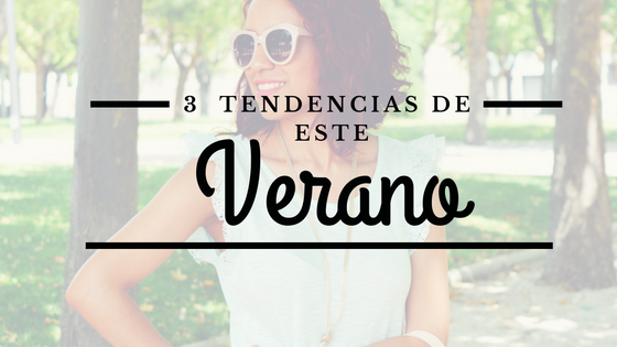 3 tendencias