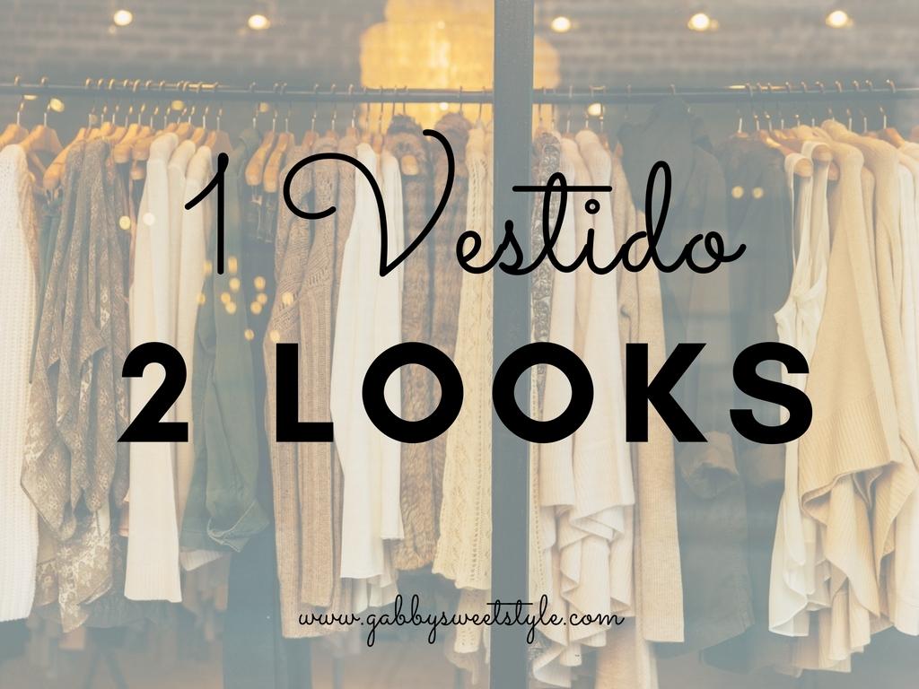 Consigue 2 Looks con 1 Vestido
