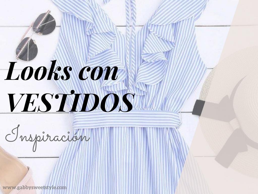 Cómo conseguir looks de tendencia con vestidos