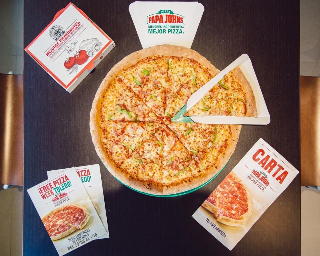 Pizza Papa Johns Toledo