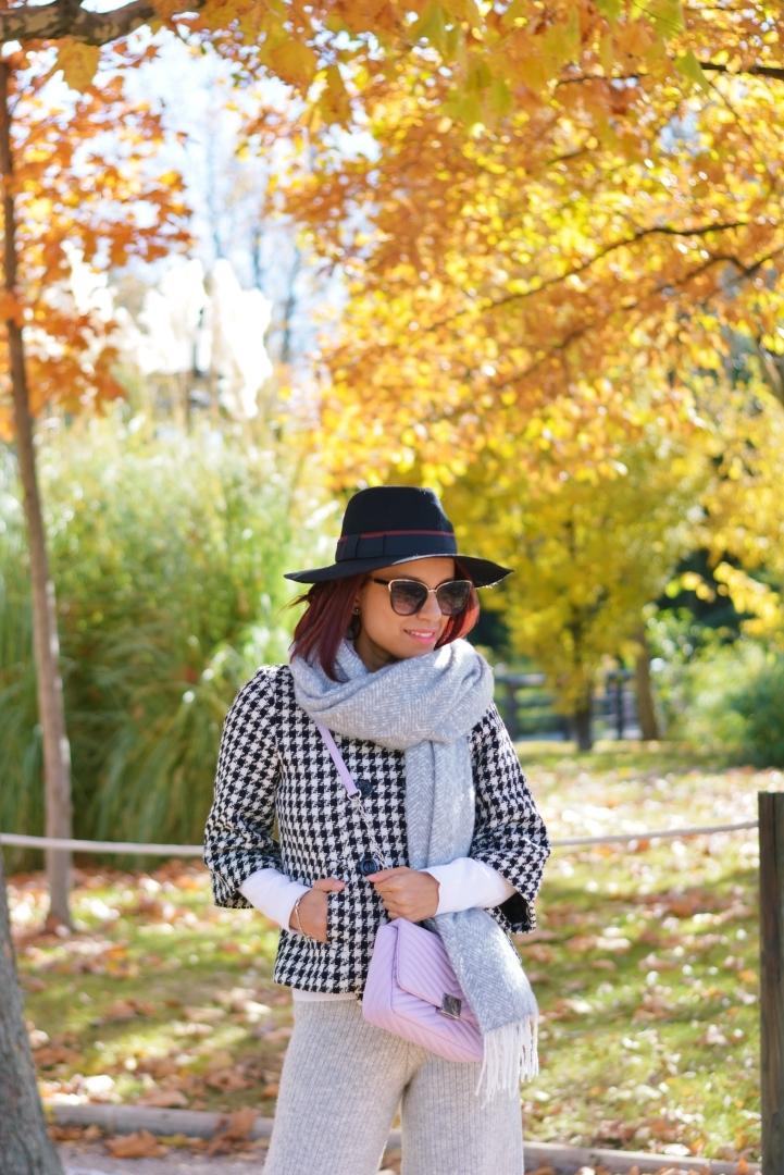 Sombrero y Pantalón de lana