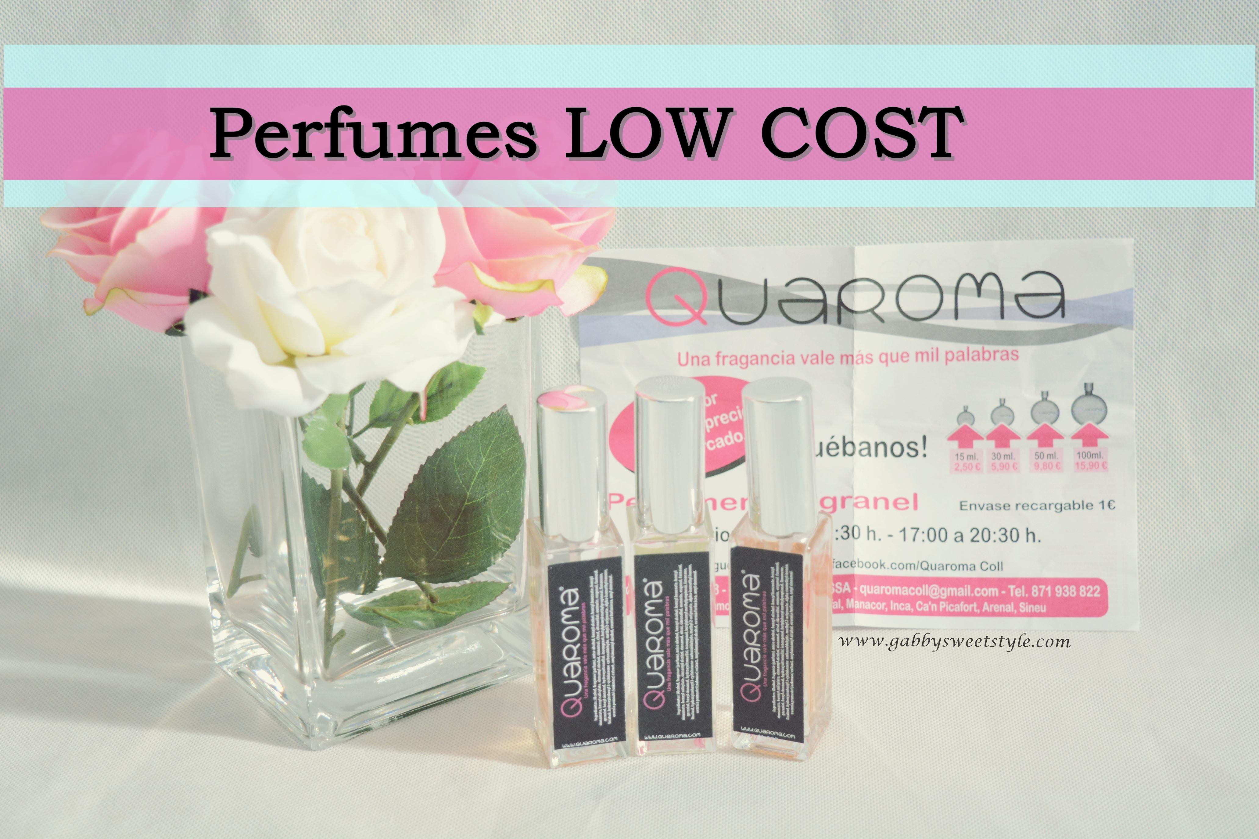 PERFUMES A PRECIOS LOW COST