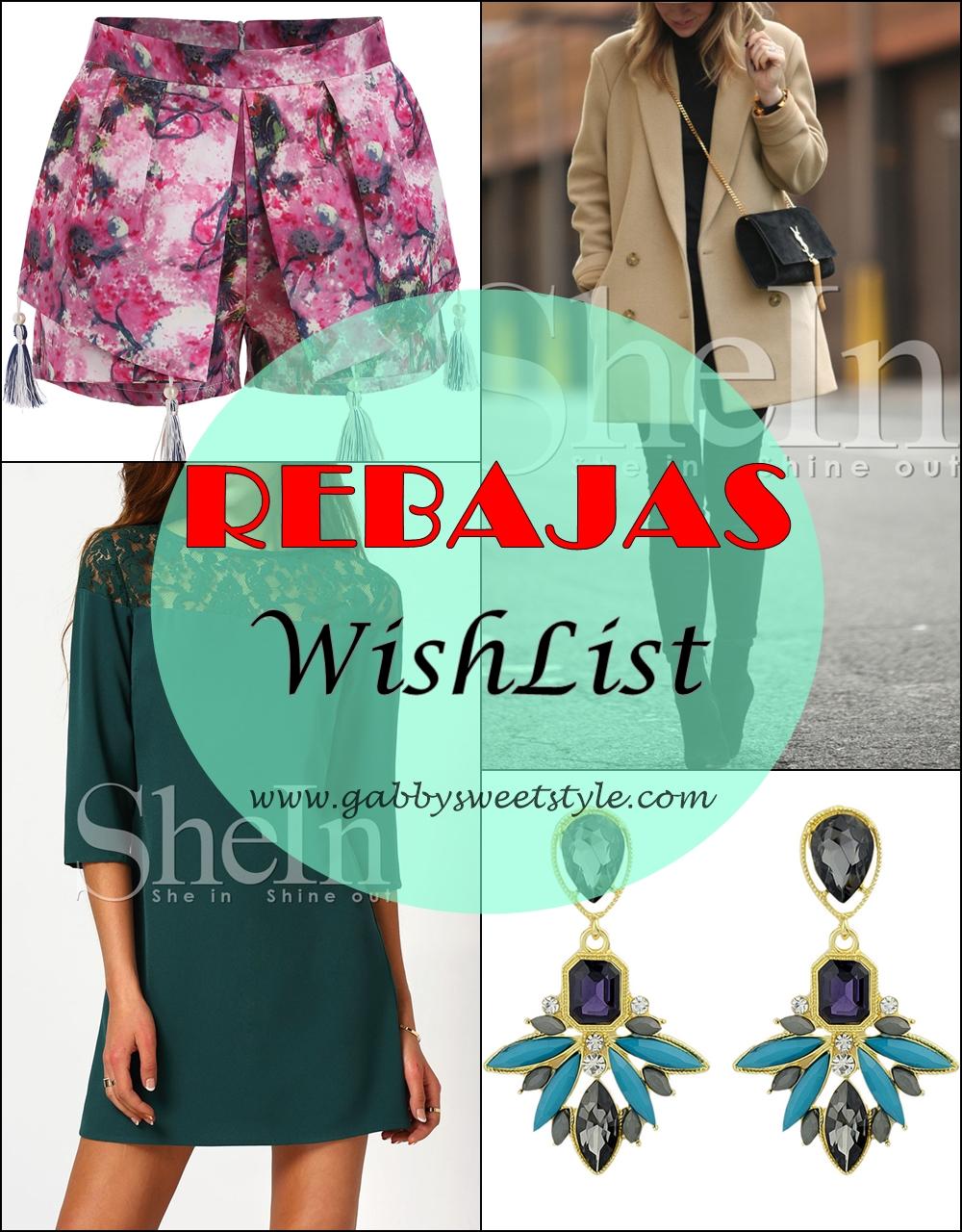 REBAJAS (WishList)