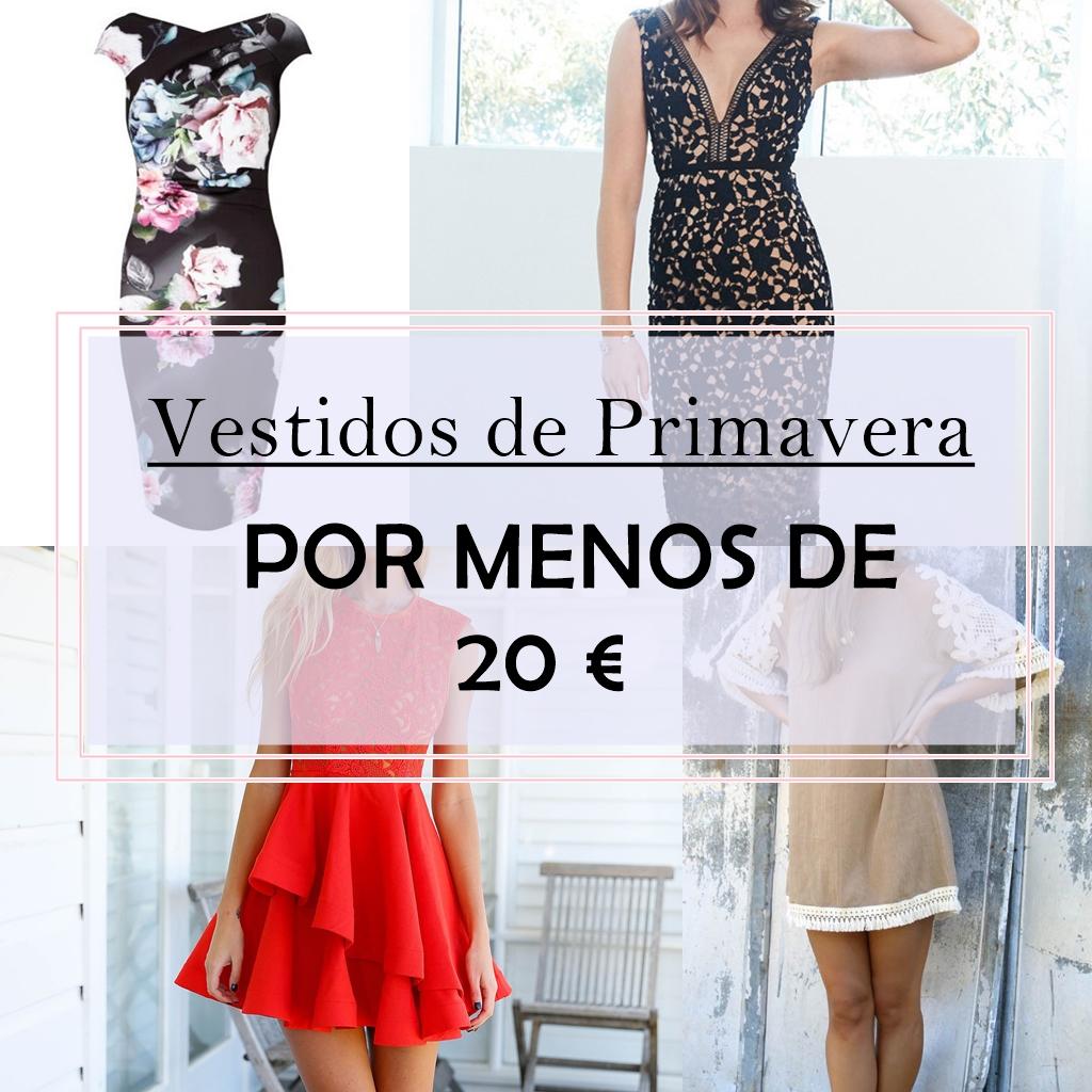 Consigue tu vestido de primavera por menos de 20€