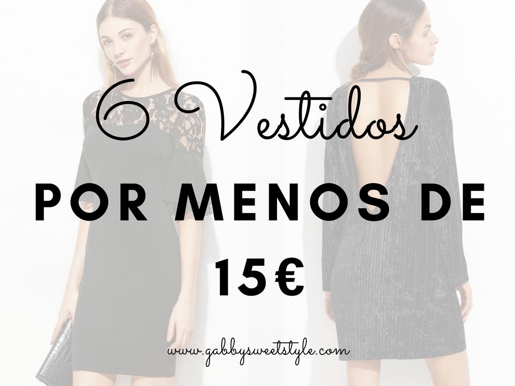 6 Vestidos por menos de 15€