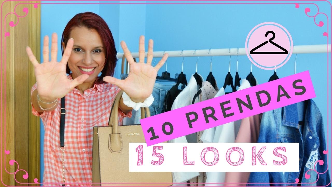 15 Looks con 10 Prendas Básicas
